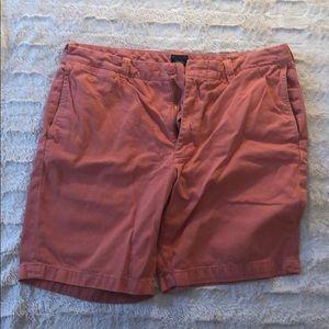 JCrew Salmon Shorts